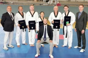 Taekwondo Heppenheim Bergstraße Danprüfung